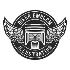 Biker emblem
