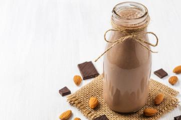 Almond chocolate smoothie