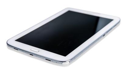 Big screen phone on white