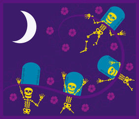 eskeletons day of the dead
