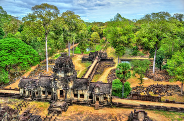 View of Baphuon temple at Angkor Thom, Cambodia