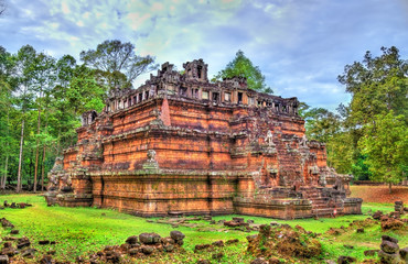 Fototapete - Phimeanakas Temple at Angkor Thom - Siem Reap, Cambodia