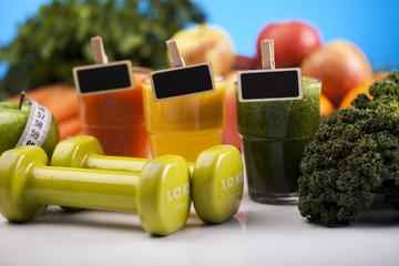 Zdrowa żywność i ćwiczenia