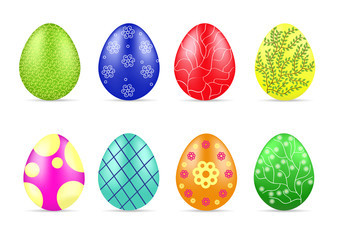 Different Easter eggs