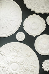 White plaster products