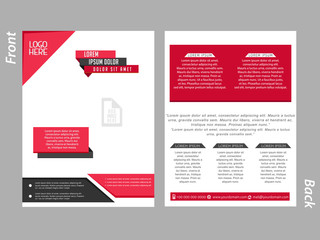creative vector design templates for Business or Corporate brochures or flyer with creative design illustration.