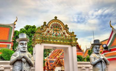 Wat Pho, a Buddhist temple complex in Bangkok, Thailand