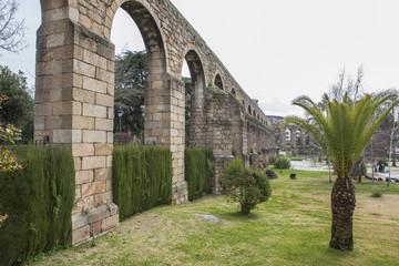 San Anton Aqueduct, Plasencia, Caceres, Spain