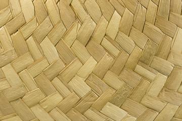 straw hat detail
