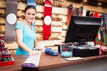 Salesperson In Ski St