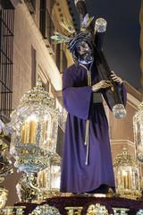 Fototapete - Procesión de Jesús del Gran poder en la semana santa de Sevilla