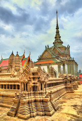 Wat Phra Kaew Ancient, temple of the Emerald Buddha in Bangkok, Thailand