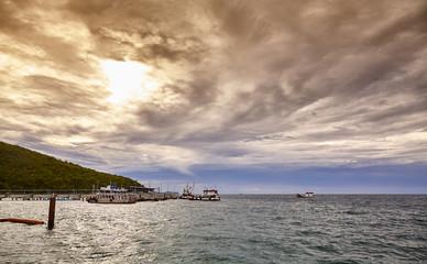 THAILAND boat sea sky beach