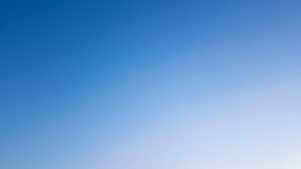 The sky was gradient clour