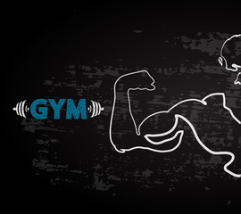 Gym vector design