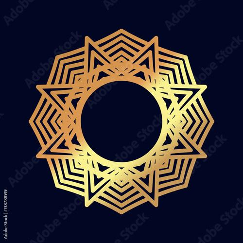 Gold Mandalas Indian Wedding Meditation Buddhist Medallion It Can