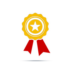 Best first prize won icon. Design vector illustration