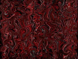 красивый абстрактный фон  красного и белого цвета на черном фоне