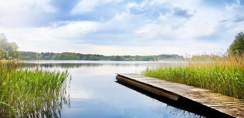 Fotobehang Meer / Vijver See