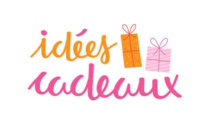 """Bannière """"Idées Cadeaux"""""""