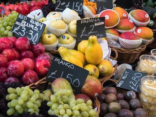 Fresh Fruit for Sale in Borough Market