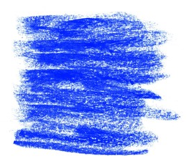 Gemalter unordentlicher Hintergrund blau