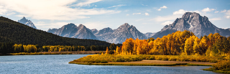 Grand Tetons in the Fall
