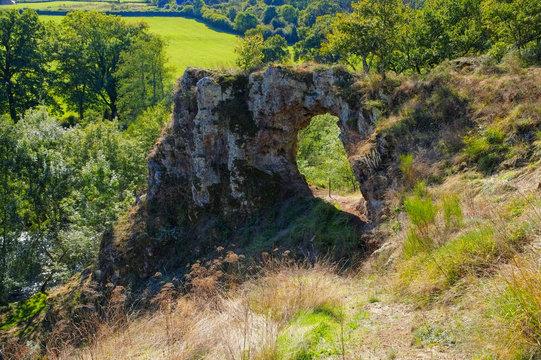 La Roche-Percee in Burgund - La Roche-Percee, Burgundy