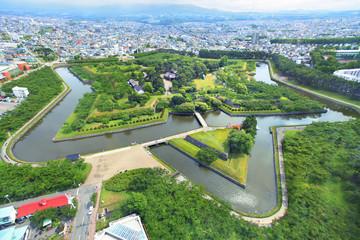 北海道 初夏の函館五稜郭