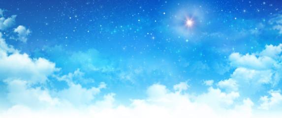 Bright star in the sky
