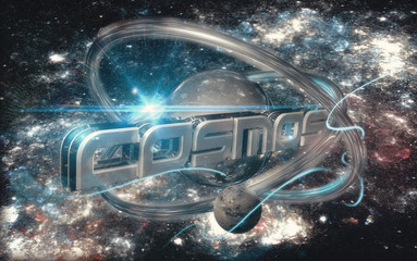Cosmos 3D word
