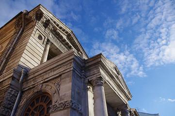 Sights and architecture of Samara city, russia