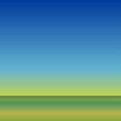 ocean horizon background - tropical morning seashore gradient.