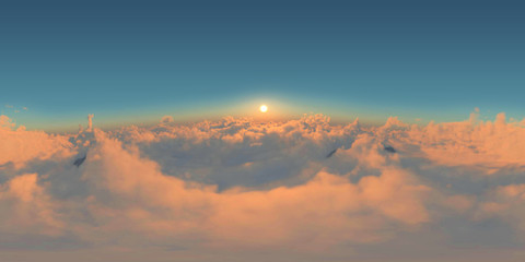 Clouds VR 360° Sun Set