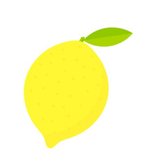 Lemon fruit icon