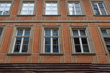 Strasbourg, France - july 24 2016 : picturesque city center in summer