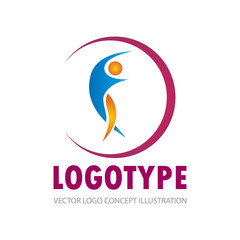 people active vector logo
