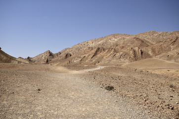 trail to the wall of ammonites