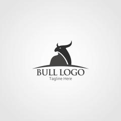 Bull Logo Design Template