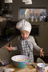 Oh No..!! Little chef makes a mistake!