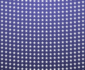 Blue background with white stars - USA colors; great for independence day or election posters