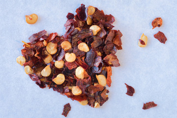 Heart healthy red pepper flakes