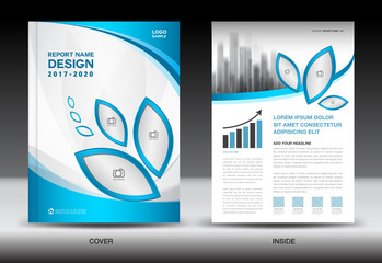 Company profile business corporate photos royalty free images brochure template layout blue cover design annual report magazine ads flyer wajeb Images