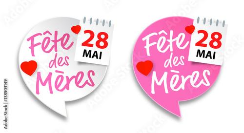 F te des m res 28 mai 2017 obraz w stockowych i plik w wektorowych royalty free w fotolia - Fete des meres 2017 ...