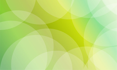 collection of green abstract background