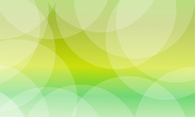Vector art of green abstract background light