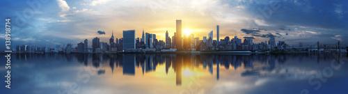 Wall mural New York City skyline