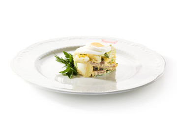 Meat and Egg Salad