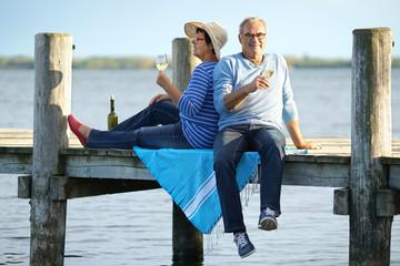 Frühling - Senioren am See