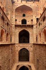Agrasen ki Baoli (Step Well), Ancient Construction, New Delhi, India